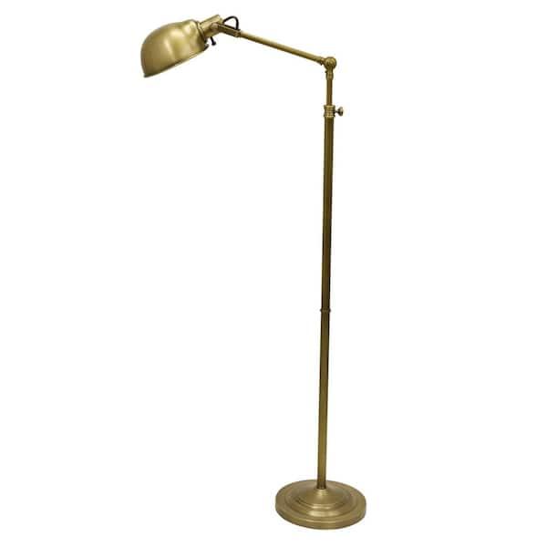 Decor Therapy Dane Adjustable Pharmacy, Vintage Brass Pharmacy Lamp