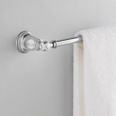 Kingsley 24 in. Towel Bar in Chrome