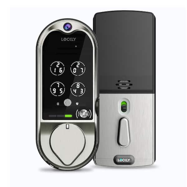 Lockly Vision Deadbolt Smart Lock with Camera