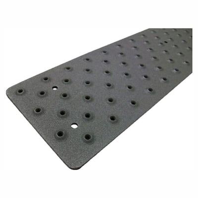 3.75 in. x 48 in. Black Non-Slip Tread