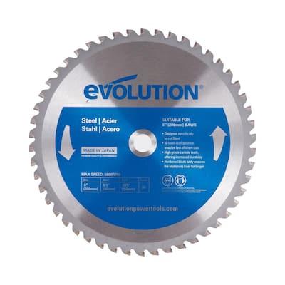 8 in. 50-Teeth Mild Steel Cutting Saw Blade