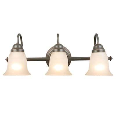 Springston 3-Light Oil Rubbed Bronze Vanity Light