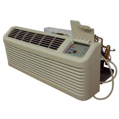 12,000 BTU R-410A Packaged Terminal Heat Pump Air Conditioner + 2.5 kW Electric Heat 230-Volt