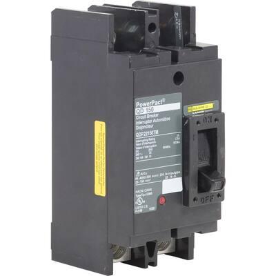 PowerPact 150 Amp 65kA 2-Pole Q-Frame Molded Case Circuit Breaker