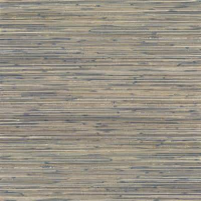 Ranong Champagne Grasscloth Wallpaper Grass Cloth Peelable Wallpaper (Covers 72 sq. ft.)