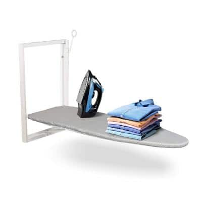 Compact Wall Mount Fold Down Ironing Board