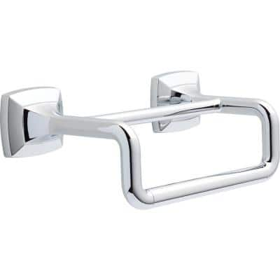 Portwood 6 in. Double Hand Towel Bar in Chrome