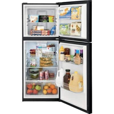 10.1 cu. ft. Top Freezer Refrigerator in Black, ENERGY STAR