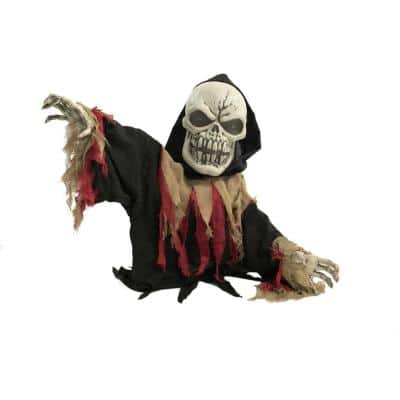 39 in. Touch Activated Animatronic Reaper