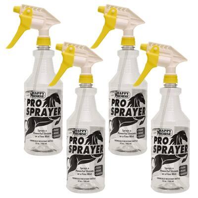 Happy Horse 32 oz. Professional Spray Bottles (4-Pack)