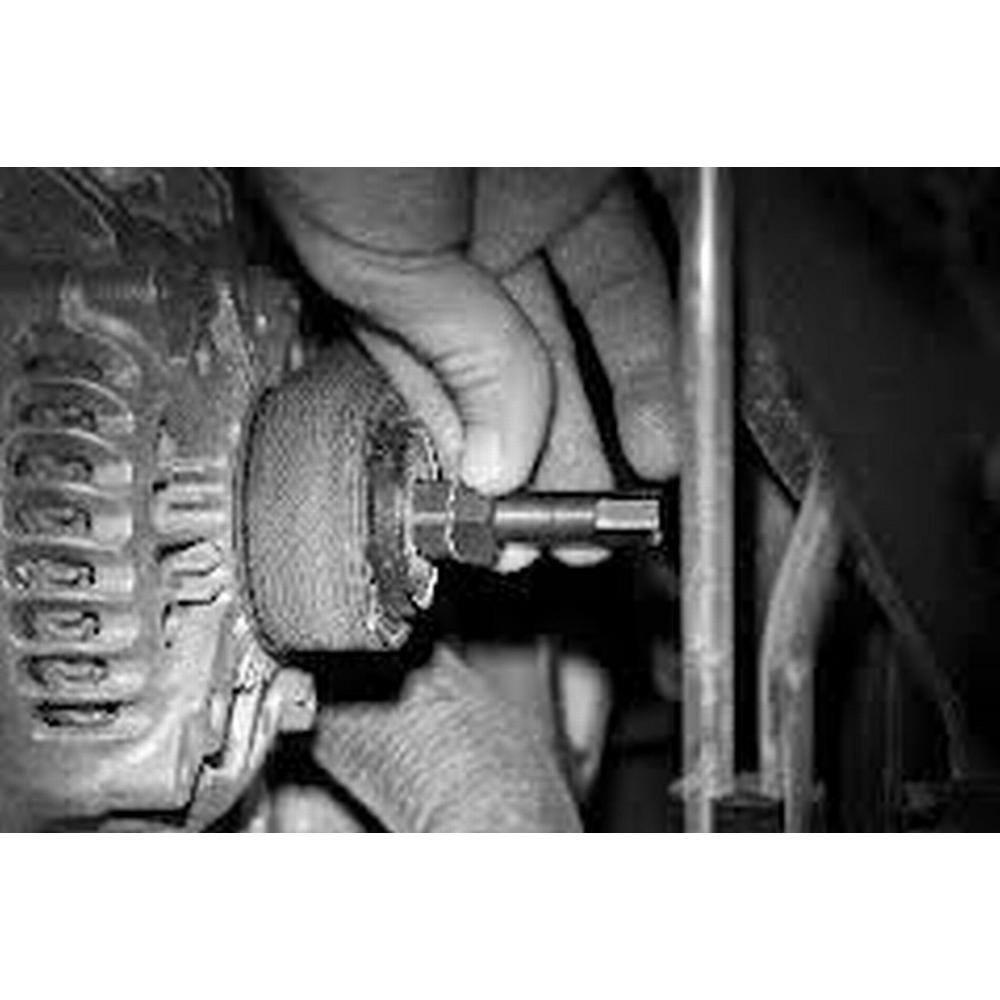Lisle 57650 Alternator Decoupler Pulley Tool Set 5 Piece