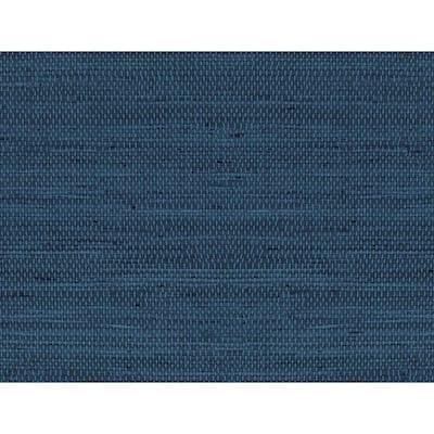 Luxe Weave Coastal Blue Vinyl Peel & Stick Wallpaper Roll (Covers 40.5 Sq. Ft.)
