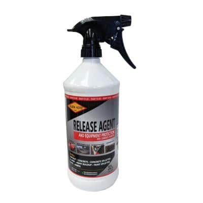 32 oz. Water Based Industrial Concrete Release and Anti-Corrosion Coating Spray Bottle
