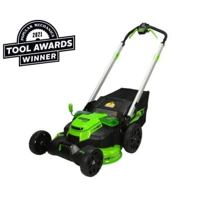 PRO 25 in. 60-Volt Cordless Battery Self Propelled Walk-Behind Lawn Mower (Tool-Only)