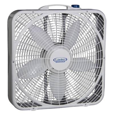 20 in. 3-Speed Weather Shield Performance Box Fan