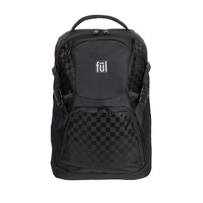 Marlon 19 in. Black Laptop Backpack