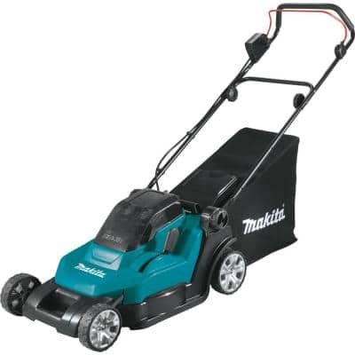 18-Volt X2 (36V) LXT Lithium-Ion Cordless 17 in. Walk Behind Residential Lawn Mower Kit (5.0Ah)