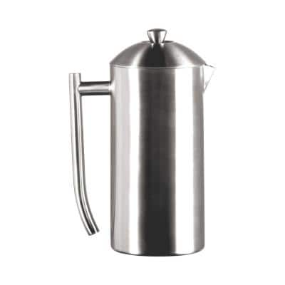 4.5-Cup Brushed Finish Stainless Steel French Press 0144