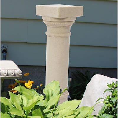 32-1/8 in. Sandstone Greek Column