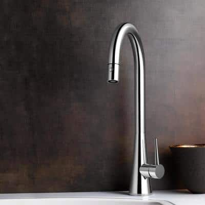 Soma Single-Handle Pull Down Sprayer Kitchen Faucet with CeraDox Technology in Oil Rubbed Bronze
