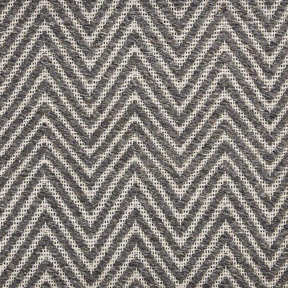 Natural Harmony 6 In X 6 In Pattern Carpet Sample Ziggy Color Charcoal 101624 The Home Depot