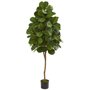 Indoor 6 ft. Fiddle Leaf Fig Artificial Tree