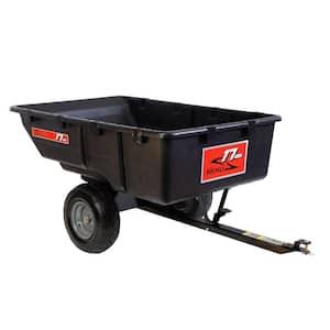 17 cu. ft. 850 lb. Tow-Behind Poly Utility Cart.