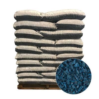 75 cu. ft. Blue Rubber Mulch (50 Bags)