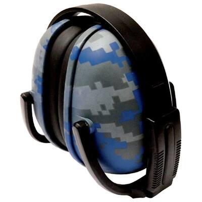 239 Foldable Ear Muff NRR 23 dB in Blue Digital Camo