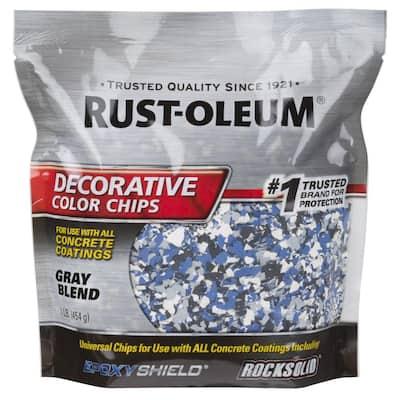 1 lb. Gray Decorative Color Chips