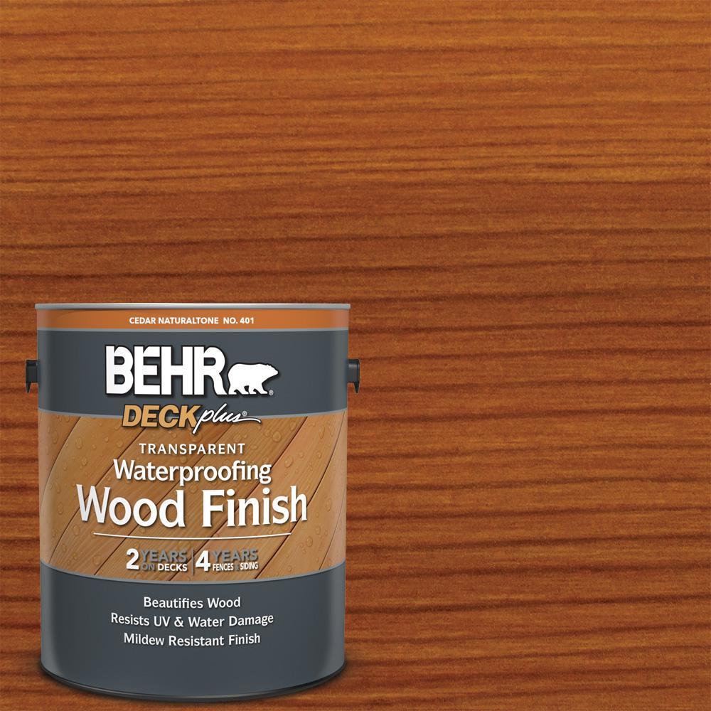 1 gal. Cedar Naturaltone Transparent Waterproofing Exterior Wood Finish