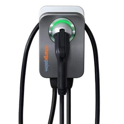 Home Flex Electric Vehicle (EV) Charger 16 to 50 Amp 240-Volt Wi-Fi Enabled NEMA 6-50 Plug Indoor/Outdoor 23 ft. cable