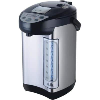 16-Cup Single-Handle Instant Hot Water Dispenser in Silver