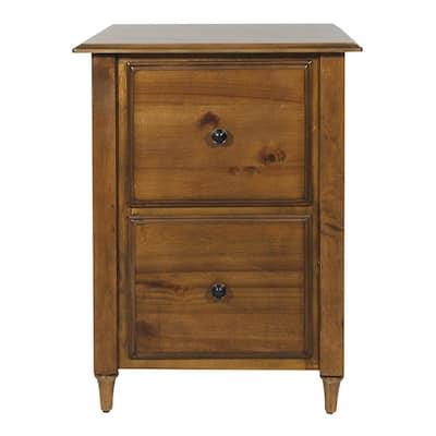 Bandon File Ginger Brown Cabinet