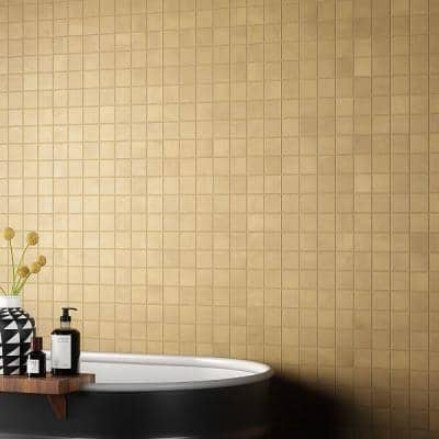 Ryx Glee 11.81 in. x 11.81 in. Matte Porcelain Floor and Wall Mosaic Tile (0.96 sq. ft./Each)