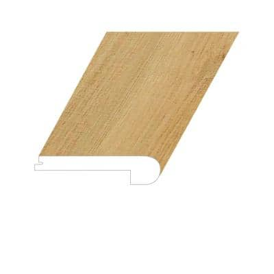 Omnia Artisan Copper 1 in. Thick x 4.5 in. Wide x 94.5 in. Length Vinyl Flush Stair Nose Molding