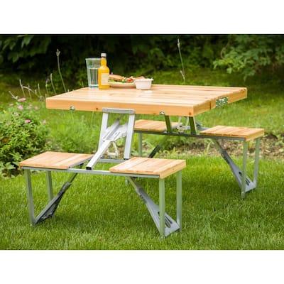 Portable Patio Folding Picnic Table