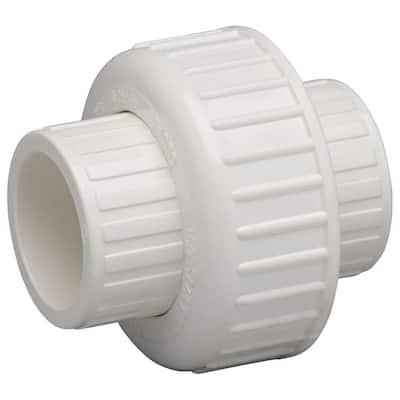 1-1/2 in. PVC Slip Joint x Slip Joint Union