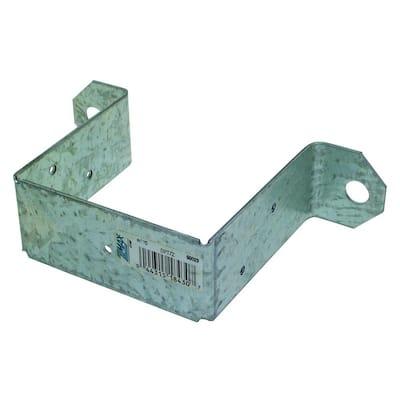 DPTZ ZMAX Galvanized Deck Post Tie for 4x4 Nominal Post