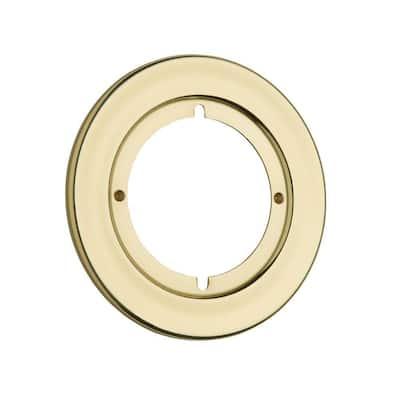 Polished Brass Round Rosette