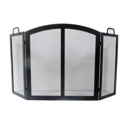55 in. Radcliff Manor 3-Panel Fireplace Screen