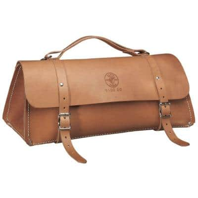 Deluxe Leather Bag, 20-Inch