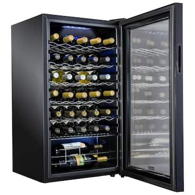 18.7 in. 34 Bottle Compressor Freestanding Wine and Beverage Cooler