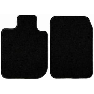 2004 2003 Passenger /& Rear Floor 2002 2005 Chrysler Sebring Coupe Black with Red Edging Driver GGBAILEY D4306A-S1A-BLK/_BR Custom Fit Car Mats for 2001
