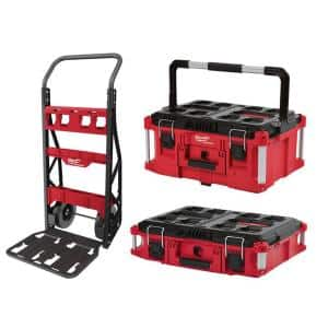 PACKOUT 20 in. 2-Wheel Utility Cart Kit (3-Piece)