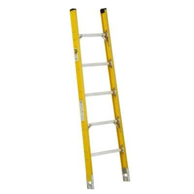 6 ft. Fiberglass Tapered Sectional Ladder with 375 lb. Load Capacity Type IAA Duty Rating - Top Section
