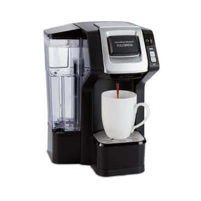 FlexBrew 1-Cup Black Single Serve Coffeemaker with Removable Water Reservoir