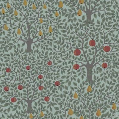 Pomona Green Fruit Tree Paper Strippable Roll (Covers 56.4 sq. ft.)