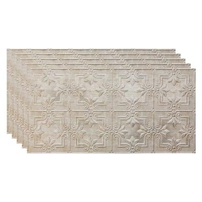 Regalia 2 ft. x 4 ft. Vintage Metal Glue Up Vinyl Ceiling Tile (40 sq. ft.)