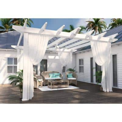Trimaran 52 in. Indoor/Outdoor Fresh White Ceiling Fan with Wall Switch